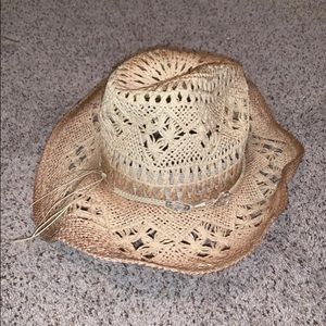 New Charming Charlie's Straw Hat